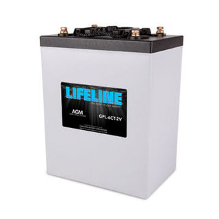 GPL-6CT-2V 900A/H 2V Lifeline Battery