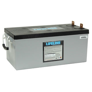 GPL-8DA 12V 255A/H Lifeline Battery (N200 size)