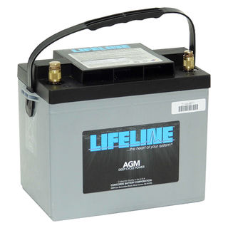 GPL-24T 12V 80A/H Lifeline Battery