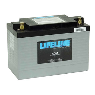GPL-31XT 12V 125A/H Lifeline Battery