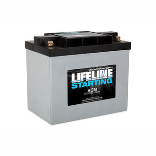 GPL-1400T 12V STARTING BATTERY 850CA at 20 Celsius