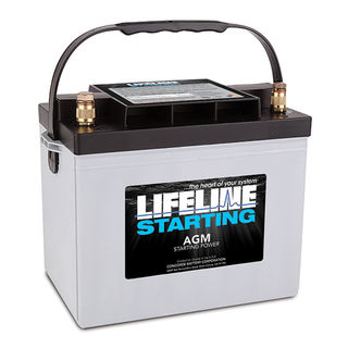 GPL-2400T 12V STARTING BATTERY 870CA at 20 Celsius