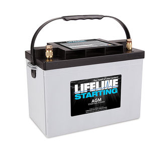 GPL-2700T 12V STARTING BATTERY 1020CA at 20 Celsius