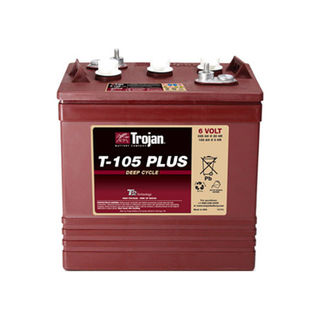 Trojan Battery 6v 225ahr Flooded Deep Cycle Lead Acid (Plus)