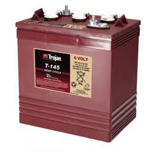 Trojan Battery 6v 260ahr Flooded Deep Cycle Lead Acid