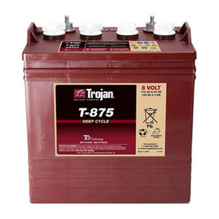Trojan Battery 8v 170ahr Flooded Deep Cycle Lead Acid (FREE DELIVERY, no Rural tickets)