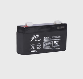 6V 1.3ah SLA, VRLA, AGM sealed Battery RITAR