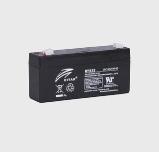 6V 3.2ah SLA, VRLA, AGM sealed Battery RITAR