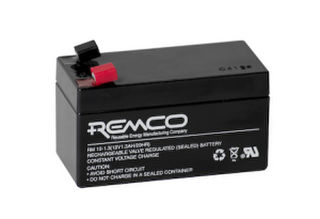 12V 1.3ah SLA, VRLA, AGM sealed Battery REMCO (FREE DELIVERY, no Rural tickets)