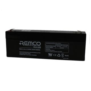 12V 2.3ah SLA, VRLA, AGM sealed Battery REMCO (FREE DELIVERY, no Rural tickets)