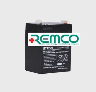 12V 2.9ah SLA, VRLA, AGM sealed Battery REMCO (FREE DELIVERY, no Rural tickets)