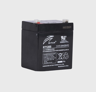 12V 5.5ah SLA, VRLA, AGM sealed Battery RITAR