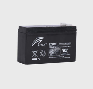 12V 5.0ah SLA, VRLA, AGM sealed Battery RITAR