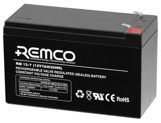12V 7.0ah SLA, VRLA, AGM sealed Battery REMCO (FREE DELIVERY, no Rural tickets)