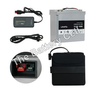 Lithium Battery 12.8v 16ah Battery and Charger COMBO (MC)