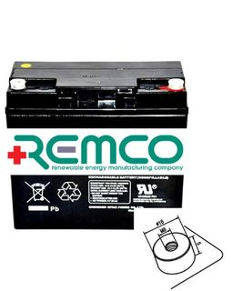 12V 20ah SLA, VRLA, AGM sealed Battery REMCO (FREE DELIVERY, no Rural tickets)