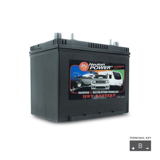 Deep Cycle Battery 12v 80a/h NP Power