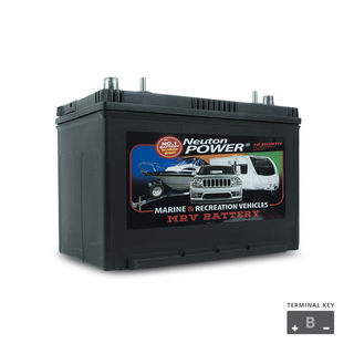 Deep Cycle Battery 12v 90a/h NP Power