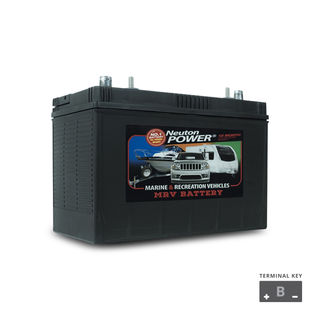 Deep Cycle Battery 12v 120a/h NP Power
