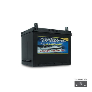M22 sized Marine Start Battery 12v 550cca