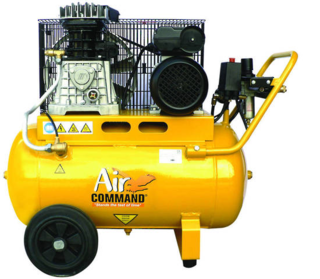Air Compressor 2HP, 50L tank, Belt Drive, AC=Mains Powered.