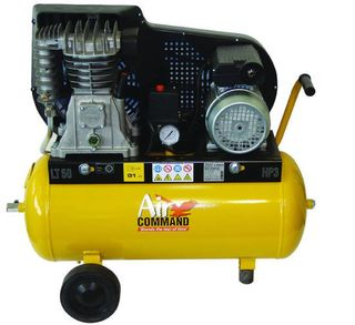 Air Compressor 3HP, 100L tank, Belt Drive, AC=Mains Powered TRADE SERIES.