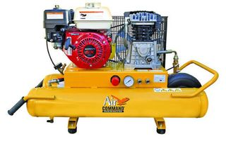 Air Compressor 5.5HP, 30L Belt Drive, PETROL POWERED.