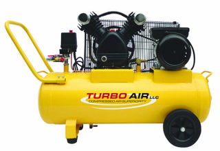 Air Compressor 3HP, 50L tank, Belt Drive, AC=Mains Powered.