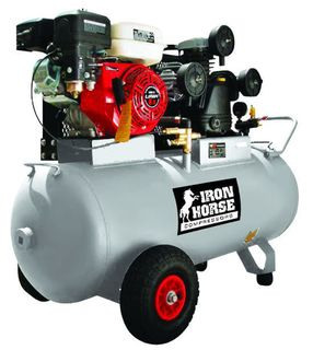 Air Compressor 8.0HP, Professional Series, PETROL POWERED.
