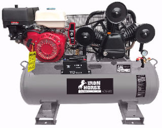 Air Compressor 15.0HP, Professional Series, PETROL POWERED.