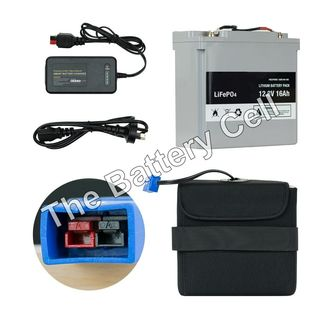 Lithium Battery 12v, 16AH Battery and Charger COMBO (MGI)