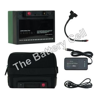 Lithium Battery 12v, 16AH Battery and Charger COMBO (T-Bar)