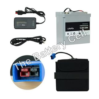 Lithium Battery 12v, 22AH Battery and Charger COMBO (MGI)
