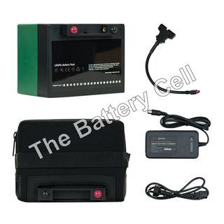 Lithium Battery 12v, 22AH Battery and Charger COMBO (T-Bar)