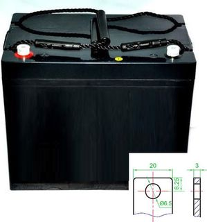12v 75ah AGM Battery (FREE DELIVERY, no Rural tickets)