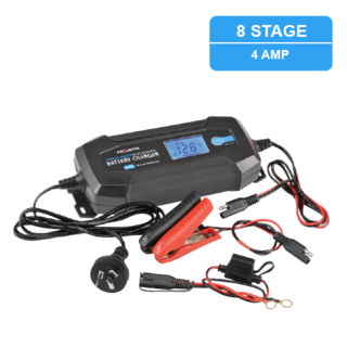 6/12V Automatic 4 Amp 8 Stage Battery Charger