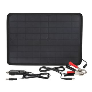 Monocrystalline 12V 10W Battery Maintainer Solar Panel (FREE DELIVERY)