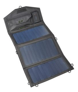 15W Personal Folding Solar Panel with Power Bank (FREE DELIVERY)