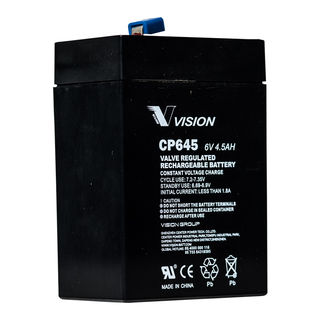 CP645 6volt 4.5amp Battery (FREE DELIVERY, no Rural tickets)