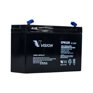 CP6120 6volt 12amp Battery