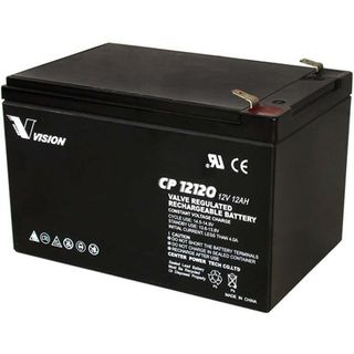 CP12120 12volt 12amp Battery