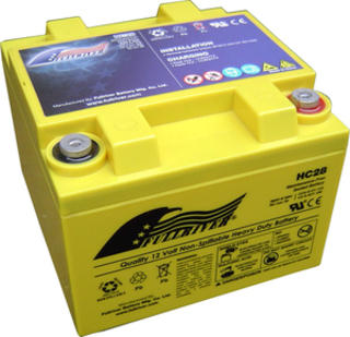 HC28 Full River 12v Performance/sports Battery