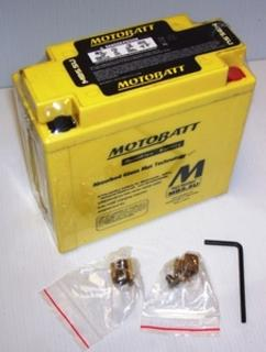 Motorcycle Battery MB5.5U Motobatt Quadflex Battery