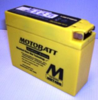 Motorcycle Battery MBT4BB Motobatt Quadflex Battery