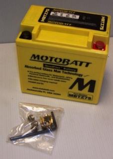 Motorcycle Battery MBTZ7S Motobatt Quadflex Battery