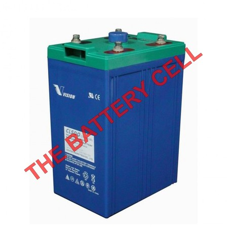 Deep Cycle CL500 2volt 500amp AGM Battery