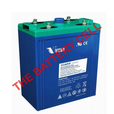 Deep Cycle 2volt 600amp AGM Battery