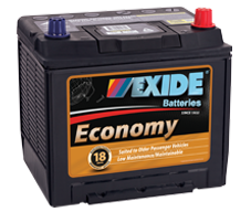 EXIDE ECONOMY STARTING BATTERIES