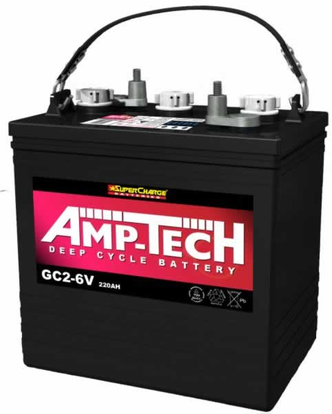 Supercharge DEEP CYCLE BATTERIES