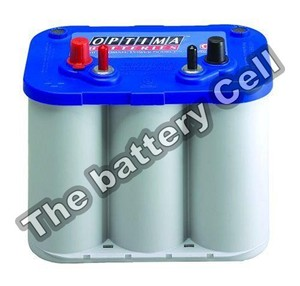 D34M Optima Blue Top MARINE Battery CA 870, 55ah